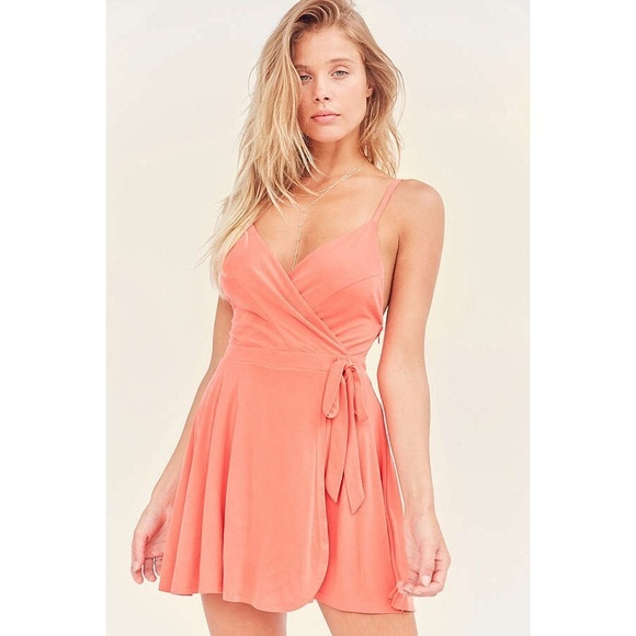 Urban Outfitters Dresses & Skirts - Urban Outfitters Kimchi Blue Wrap Romper